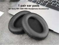 1 pair Replacement Sponge Ear Pads Cushion Covers for Sony WH 1000 XM3 Headphone