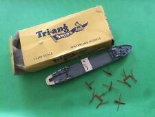 2°  TSS VIKINGEN TRIANG MINIC SHIPS / NAVE GIOCATTOLO METALLO IN BOX 1960  2/17