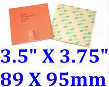 "3.5"" X 3.75"" 89 X 95mm 80W w/ 3M  Heater Pad leads on middle of the 3.75"""