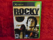 *xbox ROCKY LEGENDS (NI) An Action Adventure Boxing Game PAL UK