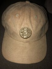 new concept 377fb 39cfe Mitchell   Ness NBA Philadelphia Sixers 76ers Micro Suede Strapback Hat  28  Tan