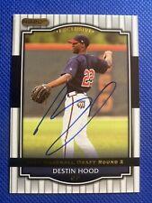 2008 Razor Destin Hood #38 Auto Signed Autograph Nationals