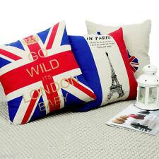 Coussins et galettes de sièges en lin pour la décoration de la chambre à coucher