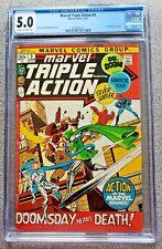Marvel Triple Action #3 CGC graded 5.0 VG/FN June 1972 20 cent Bronze age comic