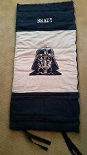 "Sleeping Bag Pottery Barn Kids Darth Vader Star Wars Blue 57x26"" BRADY"