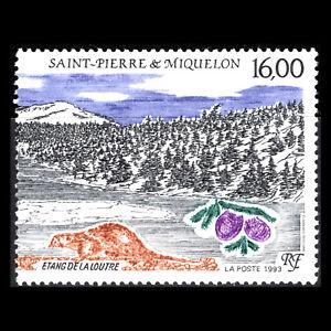 "SPM 1993 - Natural Heritage ""Sylvain Hills"" - Sc 594 MNH"