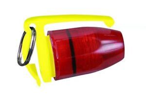 New PELICAN 2130 YELLOW LED MINI FLASHER Strobe Beacon FLASHLIGHT