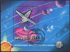 Russia 1978 SG#MS4776 Space Research Used M/S #D97386
