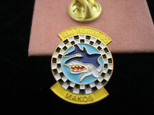 U. S. AIR FORCE 93rd FIGHTER SQUADRON (AIR FORCE RESERVE COMMAND) MAKOS HAT PIN
