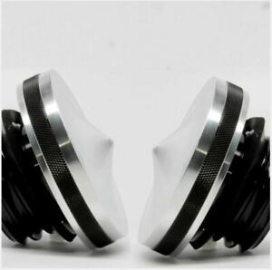 Motorcycle Gas Cap Set for Harley Davidson 1983 to 2017 - Pointed Series