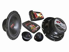 "CDT Audio CL 61BE.2 6.5"" 2-way BASS ENHANCED Component Speakers 2 Ohm Version"