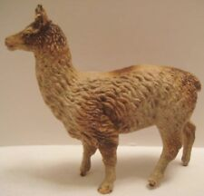 Old 1920s German Composition Llama for Christmas Putz Village or Zoo