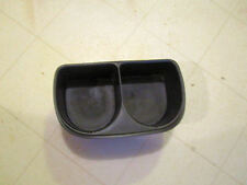 1995-2002 Saturn S series console cup holder coin tray insert Oem Black (Fits: Saturn)