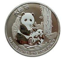Niue China Panda 2017 Neuseeland Erstausgabe 999 Silber Silbermünze in Kapsel
