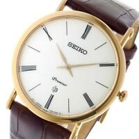 SEIKO SKP398P1 Mens Watch PREMIER Quartz in Japan Fast Shipping From Japan EMS