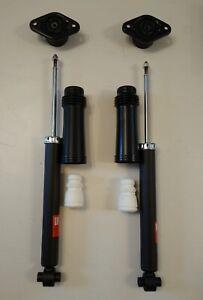 2 Gasdruck Stoßdämpfer Dämpfer Domlager Staubschutz Hyundai IX35 4WD AWD hinten