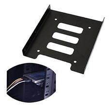 "Metal 2.5"" to 3.5"" SSD to HDD Mounting Adapter Holder fr PC Hard Drive Enclosure"