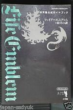 JAPAN Fire Emblem: Mystery of the Emblem Nintendo Official Guide Book