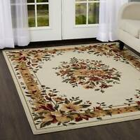 Area Rug Runner Floor Carpet Vintage Floral French Country Living Room 7x10 NEW