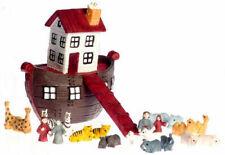 Noah's Ark, Dolls House Miniature, Nursery Accessory 1.12 Scale