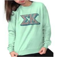 Vintage Authentic Sigma Kappa Sorority Gift Sweat Shirt Sweatshirt For Womens