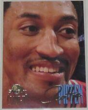 1995/96 Scottie Pippen Chicago Bulls Skybox Premium Close-Up Insert Card #C1 NM