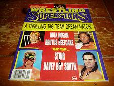 Wrestling Superstars Magazine October 1993 Issue WWF / WWE