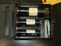 Vintage AN/USM-119 Tube Adapter Extender Set For Tube Amp 7,9 Pin, Octal