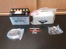 Batterie 12V 4A Aerox SR Rex Kisbee Runner Ludix Zip LX ET2 Fly NRG CB4L-B 50411