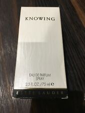 Estee Lauder KNOWING F/s 75ml Women's Eau de Parfum Spray New In Box