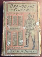 Orange And Green A Tale Of The Boyle And Limerick Hardcover G A Henry