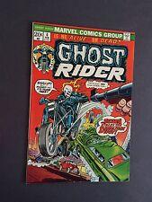 Ghost Rider 4 Raw 9.2 Bronze Age Marvel Comic I.G.K.C L@@K