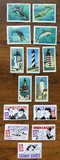 14 MNH #2470-74, 2508-11 & 2562-66 US postage stamps