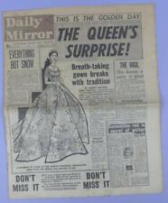 The Daily Mirror Newspaper 2nd June 1953, Coronation Day