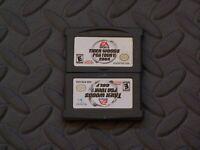 Lot Nintendo Game Boy Advance GBA Games Tiger Woods PGA Tour