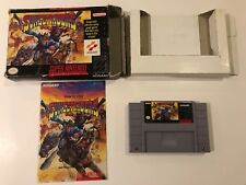 Sunset Riders • Complete in Box • CIB • [ Super Nintendo ] SNES • Authentic •