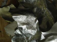 Scarti/ritagli di pelle italiana, ARGENTO - al kg