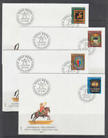 Switzerland Sc B479/B676 FDC Collection, 181 diff, all singles, 1981-2003 issues