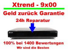 Xtrend ET 9500 blinkt nur blau? Reparatur in 24 Stunden - oder Xtrend ET 9200 ->