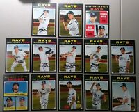 TAMPA BAY RAYS 2020 TOPPS HERITAGE TEAM SET w/ SPs- Meadows, Snell, LOWE , MCKAY