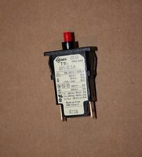 Weber T11-611-0,5A Circuit Breaker 1/2 AMP New Old Stock No Packaging