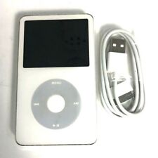 Very Good Used White Apple iPod Classic 5th Generation 30Gb A1136 Mp3 Player