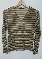 MISSONI SPORT T-SHIRT DONNA VINTAGE  SHIRT SWEATER MISSONI WOMAN  VINTAGE