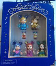 Disney Vinylmation Figure Set-Cinderella Fairy Godmother  NEW IN BOX Rare 2012
