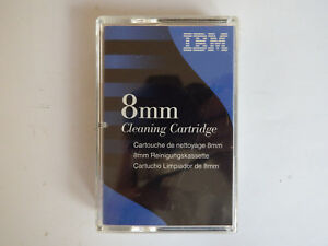 IBM D8 D-Eight 8MM Cleaning Tape/Cartridge 16G8467 NEW