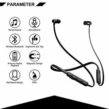 Sweatproof Wireless Sport Bluetooth Earphones Headphones Gym UK