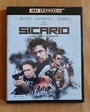 Sicario       4k Ultra HD       Blu Ray       TOP