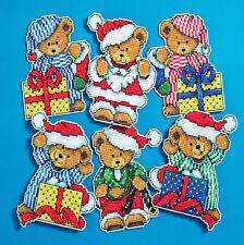 Cross Stitch Kit ~ Design Works 6  Little Bears Christmas Ornaments PC #DW1653