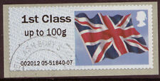 GREAT BRITAIN 2012 POST AND GO UNION FLAG FINE USED