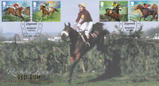 (74311) Buckingham FDC SIR ANTHONY MCCOY SIGNED Racehorse Legends Newmarket 2017